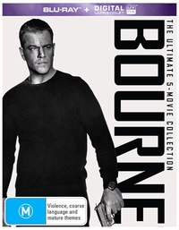 Bourne: The Ultimate 5 Movie Collection on Blu-ray