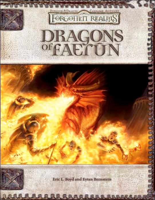 Forgotten Realms: Dragons of Faerun by Eric L. Boyd image