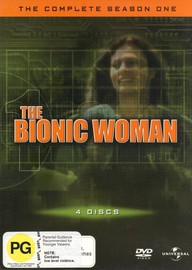 The Bionic Woman - Complete Season 1 (4 Disc Set) on DVD image