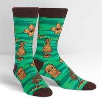 SOCK it to Me: Mens Crew Socks - Tiki Toes