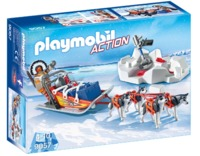 Playmobil: Action - Husky Drawn Sled (9057)