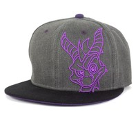 Spyro the Dragon - Black Snapback Cap