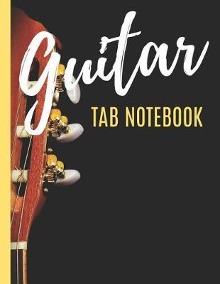 Guitar Tab Notebook by Bright Music Publisher