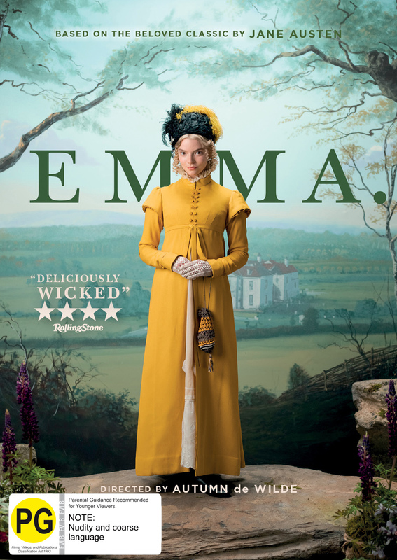 Emma on DVD