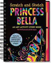 Sketch and Scratch Princess Art Activity Book by Peter Pauper Press