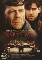 Hart's War on DVD