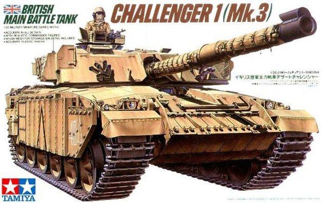 Tamiya British Challenger 1 Mk3 Main Battle Tank 1/35 Model Kit