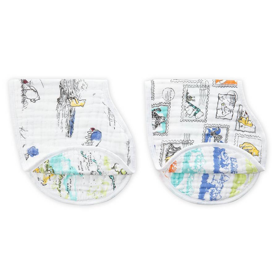 Aden + Anais: Disney Baby Burpy Bib - Winnie The Pooh (2 Pack) image