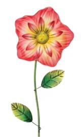 Regal Art & Gift: Fiesta Flower Stake - Red