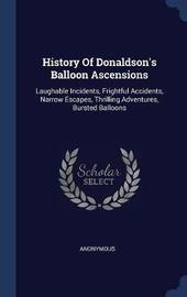 History of Donaldson's Balloon Ascensions by * Anonymous image