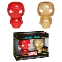 Marvel: Iron Man (Red & Gold) - Hikari XS Vinyl Figure 2-Pack