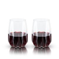 Viski: Raye - Crystal Cactus Wine Glasses (Set of 2)