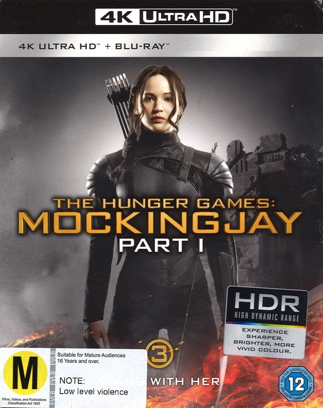 Hunger Games: Mockingjay - Part 1 on UHD Blu-ray