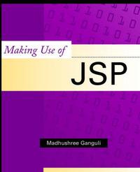 Making Use of JSP by Madhushree Ganguli image