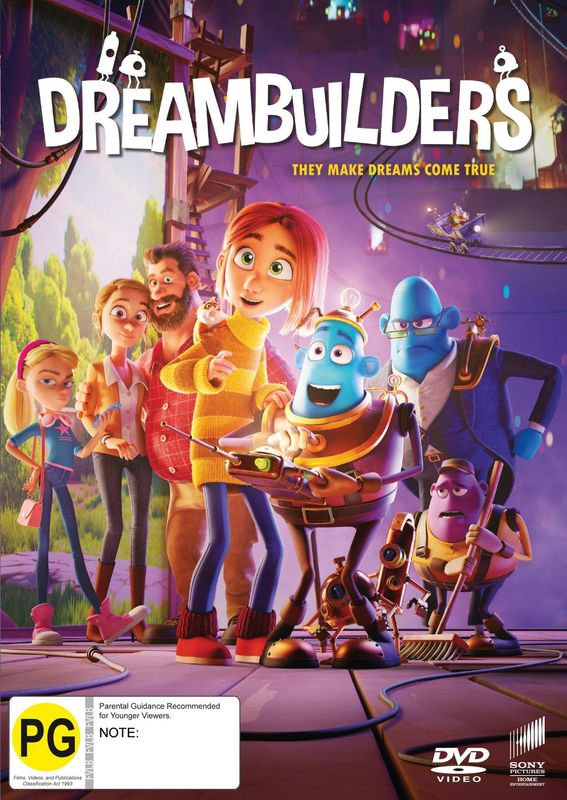 Dreambuilders on DVD
