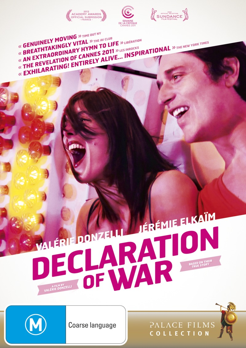 Declaration of War on DVD image