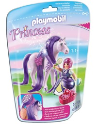 Playmobil: Foil Bag - Princess Viola & Horse (6167)