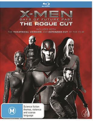 X-Men: Days Of Future Past - Rogue Cut on Blu-ray