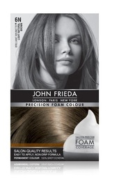 John Frieda Precision Foam Colour - 6N (Light Natural Brown)