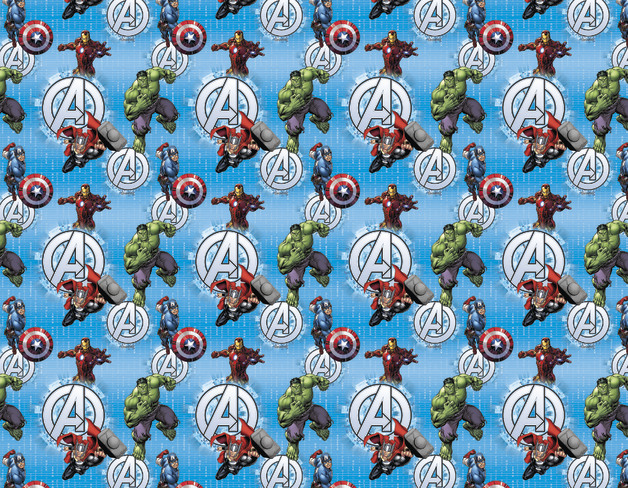 Marvel Avengers Book Covering (1m)