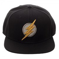 Justice League Flash Icon Embroidered Snapback