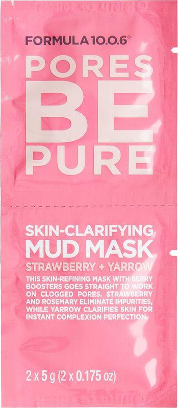 Formula 10.0.6 - Pores Be Pure Mud Mask (10g)