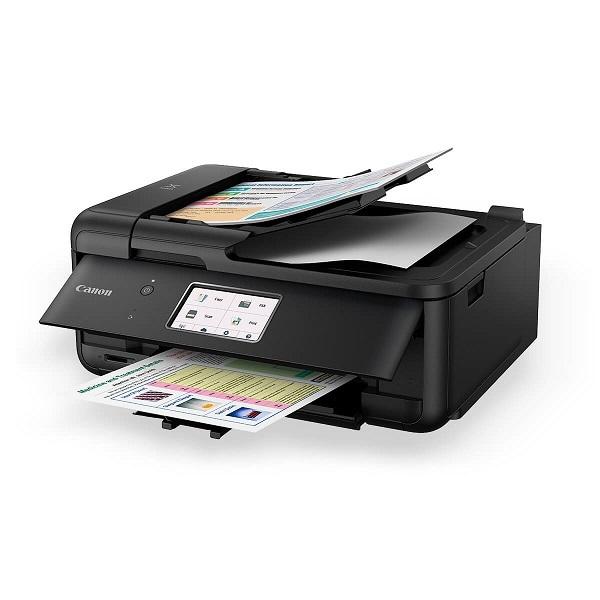 Canon PIXMA TR8560 15/10IPM Inkjet Multifunction All-in-One Printer BK