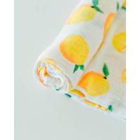 Little Unicorn: Cotton Muslin Swaddle - Lemon (Single) image