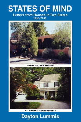 States of Mind: Letters from Houses in Two States by Dayton Lummis image