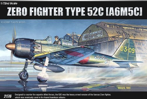 Academy Zero Fighter Type 52C 1/72 Model Kit