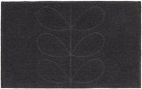 Orla Kiely Sculpted Stem Luxury Bathroom Mat - Slate
