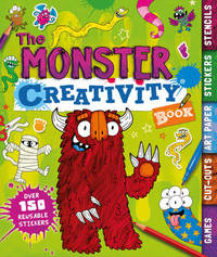 The Monster Creativity Book by Penny Worms