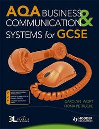 AQA Business & Communication Systems for GCSE by Fiona Petrucke image