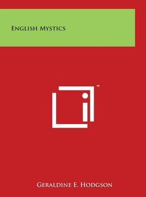 English Mystics by Geraldine E. Hodgson image