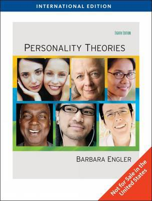 Personality Theories, International Edition by Barbara Engler