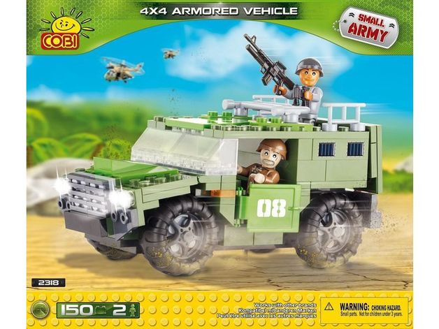 Cobi: Small Army - Armored Vehicle 4X4