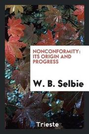 Nonconformity by W B Selbie image
