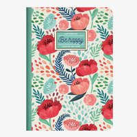 Legami: A6 Lined Notebook - Be Happy