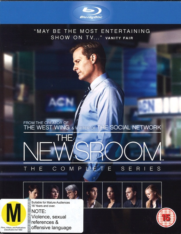 Newsroom - The Complete Series 1-3 on Blu-ray