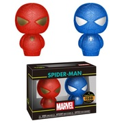 Marvel: Spider-Man (Red & Blue) - Hikari XS Vinyl Figure 2-Pack
