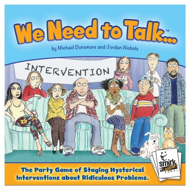 We Need To Talk - Party Game