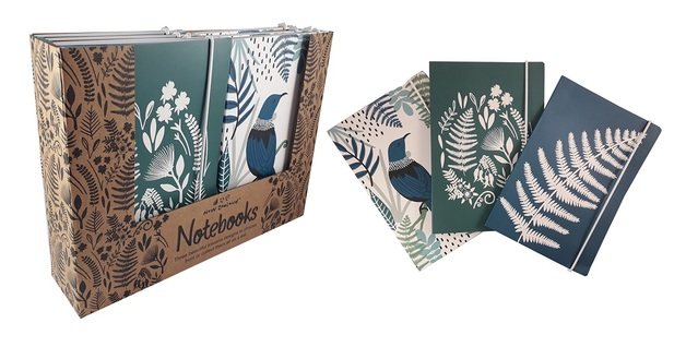 NZ Gift: A5 Soft Cover - Notebook (Assorted Designs)