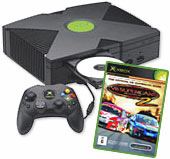 Xbox Console + V8 Supercars 2 for Xbox