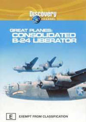 Great Planes Consolidated B-24 Liberator on DVD