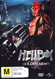 Hellboy II: The Golden Army on DVD