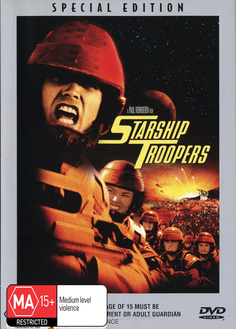 Starship Troopers on DVD image