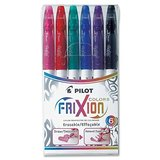 Pilot FriXion Colour Erasable Marker Pen Set (Set of 6)