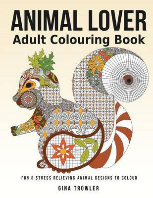 Adult Colouring Book By Gina Trowler Image