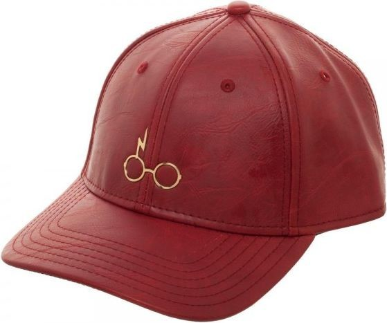258ddd49caa76 Harry Potter  Metal Logo - PU Leather Cap