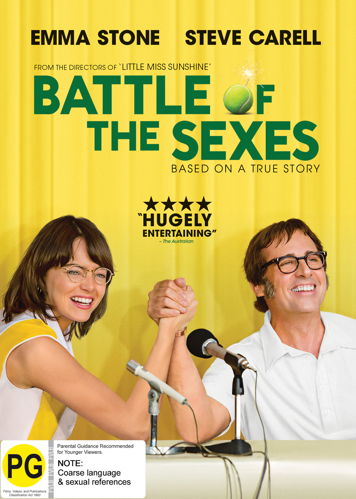 The Battle Of The Sexes on DVD image